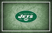 New York Jets Prints - New York Jets Print by Joe Hamilton
