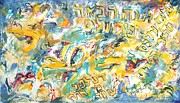 Jerusalem Paintings - Next Year in Jerusalem by Esther Newman-Cohen