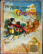 Clement Posters - Night Before Christmas Poster by Granger