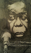 African-american Drawings - Nina Simone by Will  Carlson