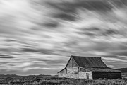 White Barn Prints - Not in Kansas Anymore Print by Jon Glaser