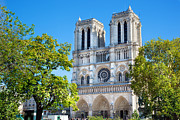 Style Art - Notre Dame Cathedral Paris France by Photocreo Michal Bednarek