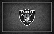 Raiders Posters - Oakland Raiders Poster by Joe Hamilton