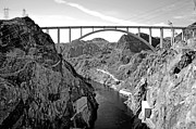 Mohave Az Posters - OCallahan Tillman Memorial Bridge Poster by Art Kardashian