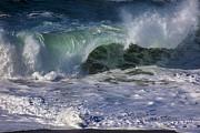 Ocean Waves Print by Garry Gay