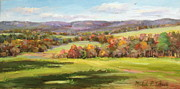 Autumn Scenes Originals - October Glory by Michele Tokach