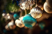 Bauble Art - Old fashioned Christmas decorations by Jane Rix