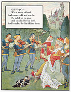 Nursery Rhyme Framed Prints - Old King Cole Framed Print by Granger