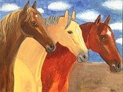 Quarter Horses Originals - Old MacDonald Ranch by Elle Alves