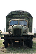 Historic Vehicle Photo Originals - Old military truck by Deyan Georgiev