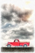 Edward Fielding - Old Red Ford Pickup