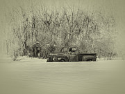 Rusty Pickup Truck Photos - Old Timer by Thomas Young