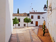 Old Home Place Photos - Old Town in Cordoba by Karol Kozlowski