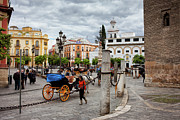 Seville Prints - Old Town of Seville in Spain Print by Artur Bogacki