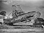 Trawler Metal Prints - Old Trawler Metal Print by Jose Elias - Sofia Pereira