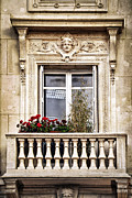 Columns Prints - Old window Print by Elena Elisseeva