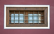 Landlord Posters - Old window with grid Poster by Deyan Georgiev