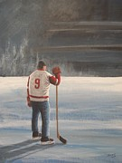 Ron  Genest - On Frozen Pond - Gordie