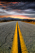 Highway Metal Prints - On Our Way Metal Print by Ryan Hartson-Weddle