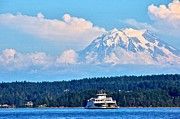 Featured On Fineart America - On Puget Sound by Sean Griffin