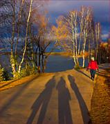 One Autumn Day Print by Vladimir Kholostykh