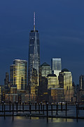 One World Trade Center At Twilight Print by Susan Candelario