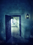 Mysterious Doorway Posters - Open Door Poster by Jill Battaglia