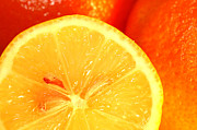 Vitamin Art - Orange by Michal Bednarek