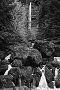Pacific Northwest Framed Prints - Oregons Watson Falls Framed Print by Andrew Soundarajan