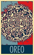Oreo Mixed Media Framed Prints - OREO in HOPE Framed Print by Rob Hans
