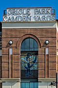 Recreation Buildings Prints - Oriole Park At Camden Yards Print by Susan Candelario