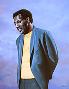 Art Of Soul Singer Prints - Otis Redding Print by Paul Meijering