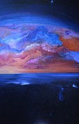 Awaken Paintings - Out of the Darkness by Myra Maslowsky
