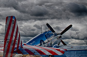 P-51 Mustang Photos - P-51 Mustang  by Mike Burgquist