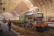 Original Oil Painting Prints - Paddington arrival. Print by Mike  Jeffries