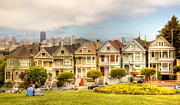 Painted Ladies Framed Prints - Painted Ladies Framed Print by Clay Townsend