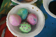 Holly Chaffin - Painting Of Easter Eggs