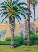 Patterson House Prints - Palms in the Sun Print by Cheryl Bloomfield