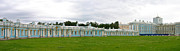 Art Photography Photos - Panorama Catherine Park Castle by Art Photography