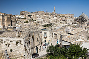 European City Pyrography - Panoramic view of Matera by Nataliya Guryanova