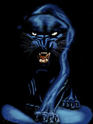 Animal Instincts Posters - Panther Style Poster by Nathon Madison