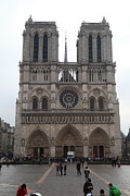 Paris France - Notre Dame De Paris - 01135 Print by DC Photographer