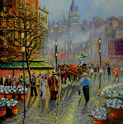 Denis Grosjean - Paris Market Square at...