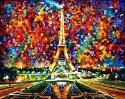 Paris Of My Dreams Print by Leonid Afremov
