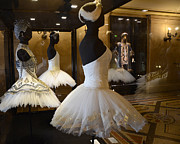 Fashion Photo Prints Posters - Paris Opera House Ballerina Costumes - Paris Opera Garnier Ballet Art - Ballerina Fashion Tutu Art Poster by Kathy Fornal