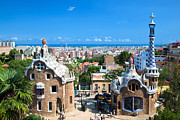 Modernism Art - Park Guell in Barcelona by Michal Bednarek
