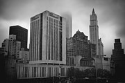 City Hall Prints - 1  Park Plaza and the Woolworth Print by Joann Vitali