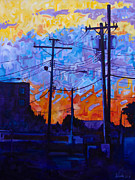 Michael Ciccotello - Parking Lot Sunset