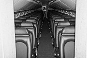 Manhatan Prints - passenger cabin of the British Airways Concorde  Print by Joe Fox