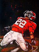 Sports Art Art - Passion And Glory by Carole Foret